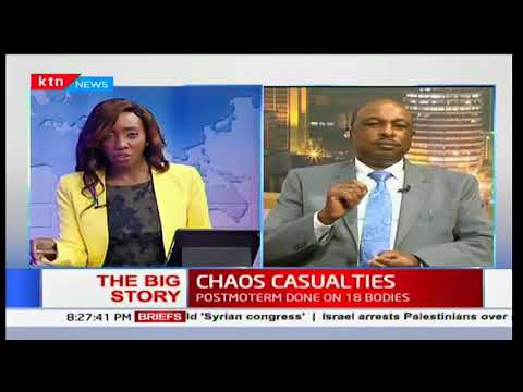 Eric Kiraithe: Some of the reactions they get from the police are extreme because they are extreme