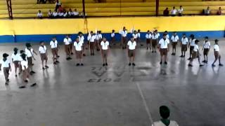 Sabang Elementary School, Boy Scout Fancy Drill ( With Yell And Song)