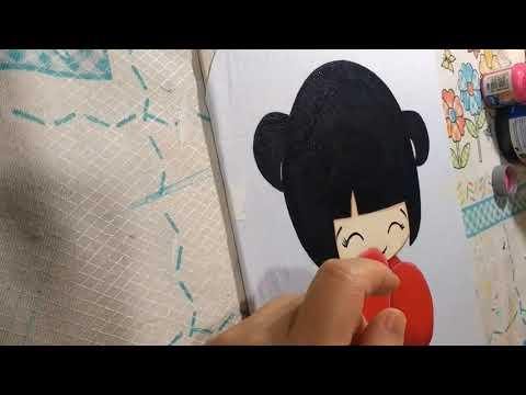 Japonesa Kokeshi