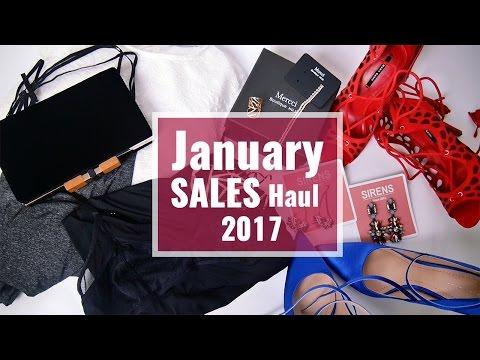 January SALES Haul!