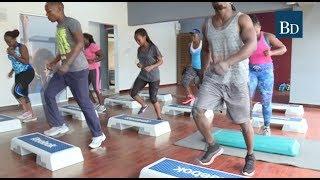 Steps Aerobics, a Serious Calories Burner - VIDEO