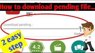 download pending in play store samsung j2