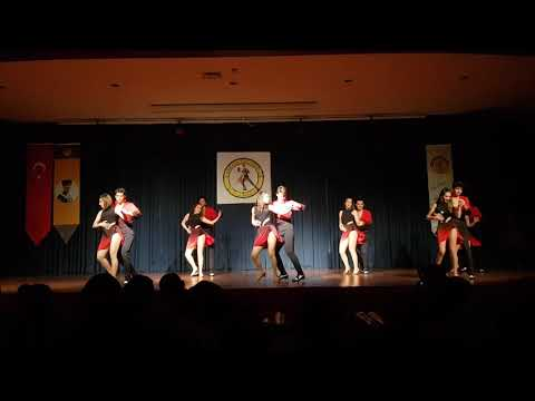 2017-2018 yılı TOBB ETÜ Eşli Danslar Topluluğu Bachata Gösterisi @Çankaya Üniversitesi