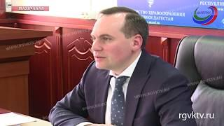 Премьер Дагестана Артем Здунов провел совещание в Минздраве республики