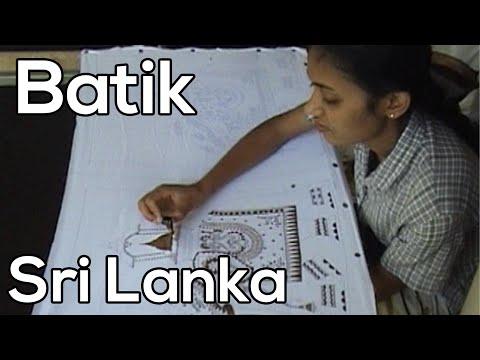 Batik, Sri Lanka