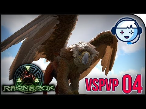 LEVEL150 GRIFFIN TAME!!! Easy tame! | VsPVP: Ragnarok | Ark
