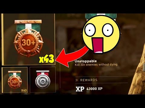 the ONLY CLASS YOU'LL EVER NEED...😍 (73 KILLSTREAK) - COD WW2
