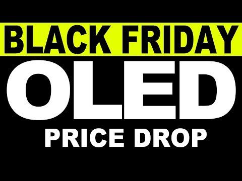 (Black Friday) OLED Price Drop -- Sony A1e vs. LG C7, B7, E7, G7 -- Black Friday Deals