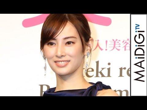 """北川景子、""""なりたい顔""""と""""なりたい髪""""W受賞 「恥ずかしいという感じ」"""