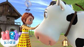 Детские Песни - Уж Как Я Мою Коровушку Люблю - Потешки для Детей