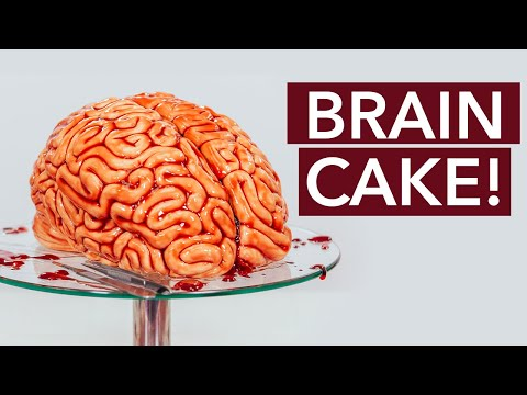 Scary: Human Brain Made Out Of CAKE!
