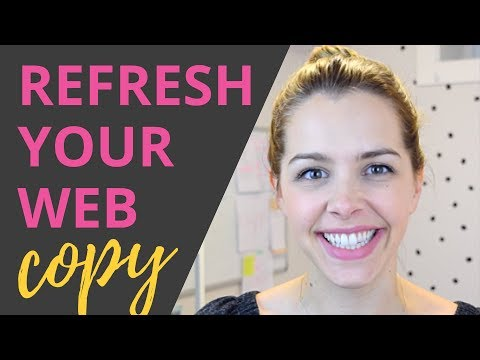 Refresh Your Website Copy - 5 Easy Steps!