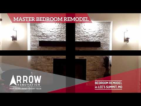 Master Bedroom Remodel of the West Wall in Lee's Summit, MO
