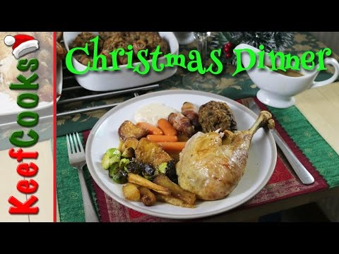 British Christmas Dinner – traditional recipe