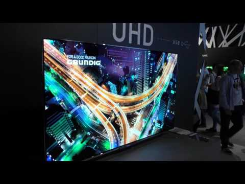 Details zum Grundig 4K OLED TV @ IFA 2016