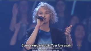 Touch The Sky - With The Wonderful Voice Of Taya Smith - Lyrics - Portuguese and Spanish Translation