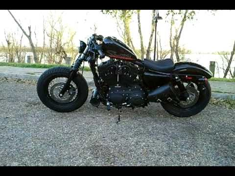Sportster Forty Eight Xl1200x Harley 48 Bobber Swingarm