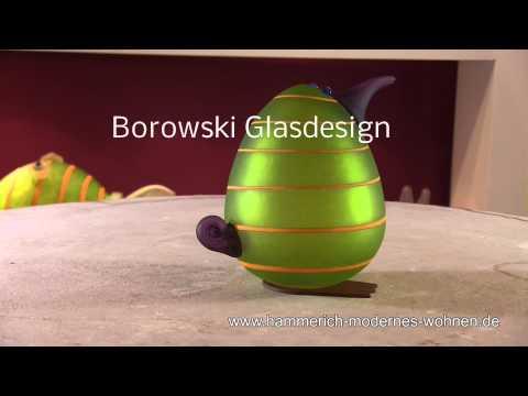Glasstudio Borowski- Studio Line - Kiwi Egg- Briefbeschwerer