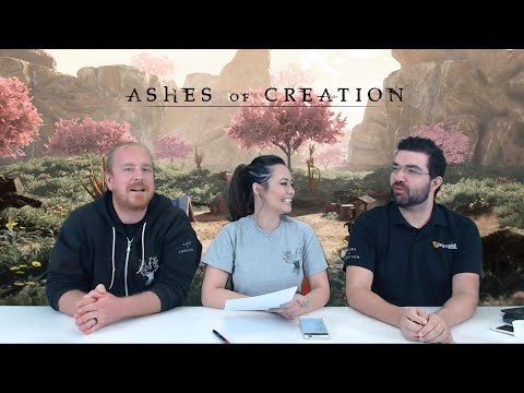 Ashes of Creation Nodes Q&A Live Stream Replay