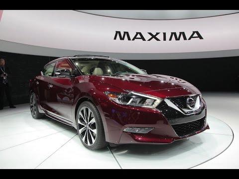 2016 Nissan Maxima - 2015 New York Auto Show