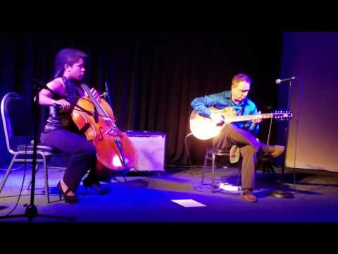 Live show with cellist Sarah Overton at the Blue Bamboo, Orlando FL.