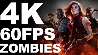 [4K-60FPS] Call of Duty: Black Ops 4 | Voyage of Despair Zombies | ULTRA GRAPHICS - TITAN X SLI