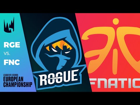 RGE vs FNC - LEC 2020 Spring Split Week 5 Day 1 - Rogue vs Fnatic