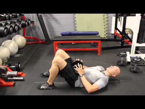 DB Weighted Hip Thrust