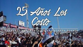 25 Años Les Costo, Arengazo 30 Años Garra Blanca 2016