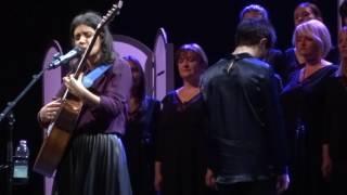 "Video thumbnail of ""Katie Melua & Gori Women's Choir - Satrpialo (Georgian song), 14.11.2016, Toruń, Poland"""