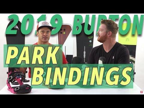 2019 Burton Park/Freestyle Snowboard Bindings