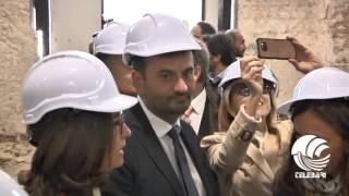 """Bari, Polo del contemporaneo: sopralluogo sui cantieri. Decaro: """"Trasformiamo le visioni in realtà"""""""