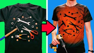 28 COOL BLEACH IDEAS FOR YOUR CLOTHES
