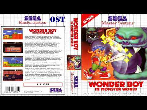 Wonder Boy in Monster World master system (OST) full soundtrack Arcadianos (Mansell)