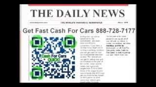 Cash For Cars Without Title Cincinnati OH 888-862-3001 Sell Junk Car With No Title Ohio