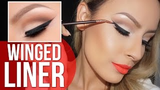 How to: Perfect winged liner tutorial - Desi Perkins