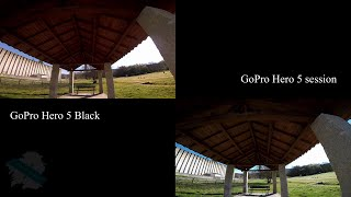 GoPro Hero 5 Black vs GoPro Hero 5 Session Test #002 - FPV Galicia