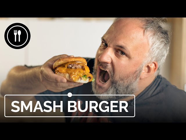 SMASH BURGER: La hamburguesa con queso preferida en EEUU
