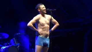 Will Young Strips At Vivary Park Taunton   Evergreen