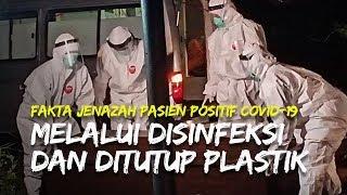Video Proses Jenazah Pasien Covid-19 Didisinfeksi dan Ditutup Plastik Rapat hingga Aman Dimakamkan