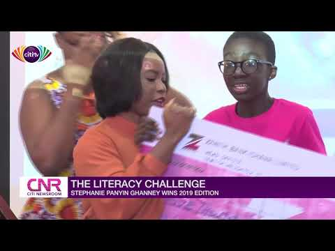 Stephanie Panyin Ghanney wins 2019 edition of the Literacy Challenge
