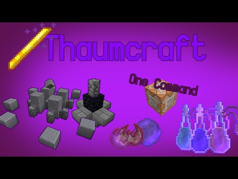Thaumcraft In 4 Commands: Infusion Altar, Aura Nodes, Items
