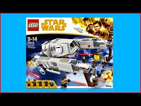 UNBOXING LEGO 75219 Star Wars Imperial AT-Hauler Construction Toy