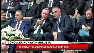 Gönüller Konya'da buluştu