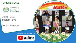 Rainbow – How Is A Rainbow Formed | EVS Subject For UKG Students | Ruby Park Public School Thumbnail