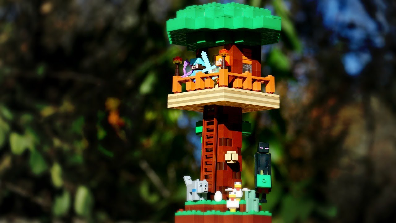 LEGO Minecraft-Inspired Jungle Hideout⎜A LEGO MOC