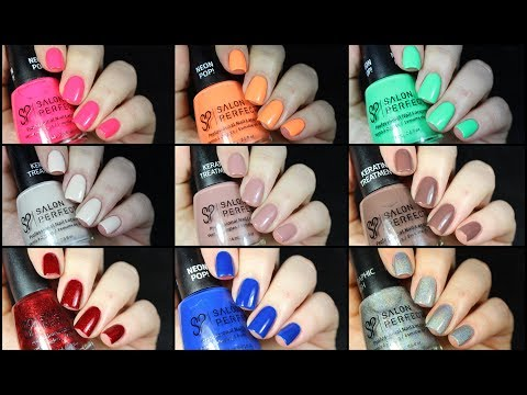 26 Salon Perfect Nail Polishes Swatched!!!