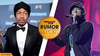Nick Cannon and Eminem beef (01:17) Obie Trice chimes in (03:24)  Subscribe NOW to The Breakfast Club: http://ihe.art/xZ4vAcA  Get MORE of The Breakfast Club: ► WATCH MORE: https://www.youtube.com/user/breakfastclubpowerfm ► LISTEN LIVE: https://TheBreakfastClub.iheart.com/ ► CATCH UP on What You Missed: http://ihe.art/Dx2xSGN ► FOLLOW The Breakfast Club on Instagram: https://www.instagram.com/BreakfastClubAM/ ► FOLLOW The Breakfast Club Twitter: https://twitter.com/BreakfastClubAM ► LIKE The Breakfast Club on Facebook: https://www.facebook.com/BreakfastClubAM/   Get more Power 105:  ► Listen LIVE: http://power1051fm.com/ ► Facebook: https://www.facebook.com/Power1051NY/ ► Twitter: https://twitter.com/power1051/ ► Instagram: https://www.instagram.com/power1051/   The Breakfast Club features celebrity interviews, Charlamagne tha God's Donkey of the Day, Angela Yee's Rumor Reports, DJ Envy's mixes and so much more! Every guest visiting the world's most dangerous morning show is grilled with their signature blend of honesty and humor. The results are the best interviews to be found on radio.  #BreakfastClub #RumorReport #NickCannon #Eminem