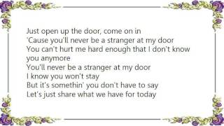 Juice Newton - Stranger at My Door Lyrics