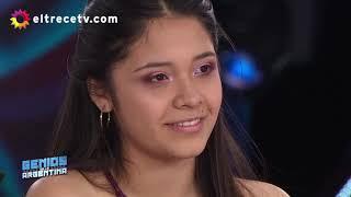Priscila Ortiz en Genios de La Argentina
